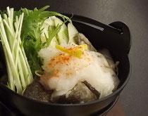 真の日本料理「美菜ガルテンふるかわ」牡蠣と鱈のみぞれ鍋