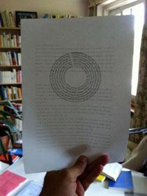 """Das Gedicht """"muxmäuschen"""" von Simone Kornappel, abgedruckt  in der ersten Ausgabe der Mütze"""