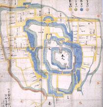 宇都宮城古絵図