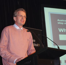 Dirk addresses White Ribbon in Adelaide