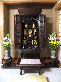 タモ集成材 お仏壇用の段差解消板