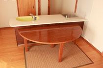 自作タモダイニングテーブル