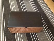 メルクシパイン集成材のカゴボックスの蓋