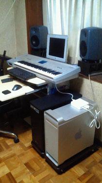 ハードメープルパソコンスタンド
