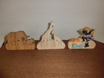木工クラフト作品