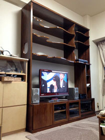壁面収納TVボード