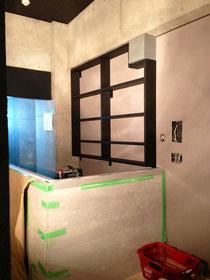 集成材 壁面の棚