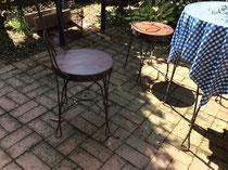 桧(無節)集成材の椅子の座板