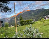 Die Alpen glühen in Vorfreude 🥰🥰🥰