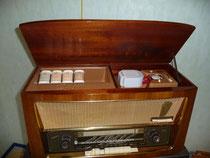 Tefifon T 573 Bj.1956 mit Schallband