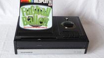 Telefunken TP 1005 Bildplattenspieler Bj. 1975-1977