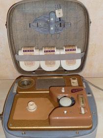 Tefifon Koffergerät mit MW-Radio Bj. 1956
