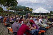 Viele Besucher kamen zum Dixie-Frühschoppen der Neuen Liste Buch.