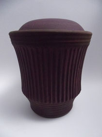 Bild: Urne, kanneliert, Keramik