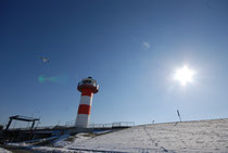 Leuchtturm am Lüheanleger, Foto: Angela Heinssen
