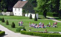 Visiter le Château de Condé avec sa classe en Brie champenoise de Picardie