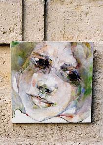 Jean-François Comte peint des portraits, des nus monochromes. Sa galerie est installée dans l'Oise, en Picardie, à Saint Germer de Fly
