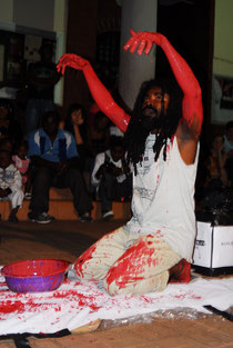 Afrikan Oil is Not for All Afrikans ,performance,2012,Christian ETONGO,copyrigth