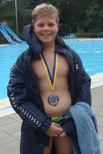 Wasserball: Vincent Hartwig gewann Silber mit Cuxhaven