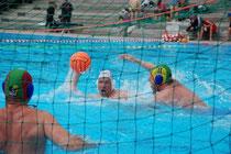 Im Angriff: BSC-Wasserballer Markus Durstewitz
