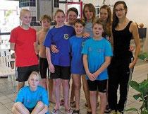 Die Schwimmer aus dem Kreis holten Medaillen bei der Meisterschaft.
