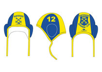 Auswärts: blau-gelbe Kappen