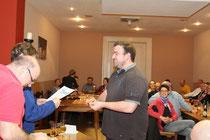 Markus Waetjen: Ehrung für 25-jährige Mitgliedschaft im BSC