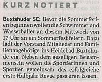 Hamburger Abendblatt vom 26.06.2013