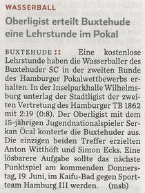 Hambruger Abendblatt vom 14.06.2014