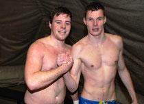 Erfolgreiche BSC-Schützen Patrick Dürr (4 Tore) und Christian Kaschinski (3 Tore)