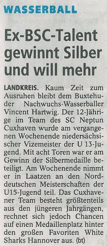 Buxtehuder Tageblatt vom 05.07.2014