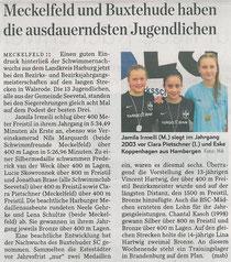 BSC-Schwimmen: Hamburger Abendblatt vom 01.02.2014