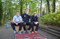 v.l.n.r.: Alexander Mrohs, Roger Müller und Martin Stöckle
