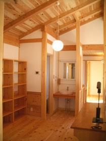 栃木の木の家と自然素材を使用した注文住宅