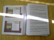 Das Jimdo Handbuch als Plot in der Druckerei