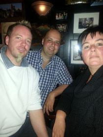 Im Klausner mit Birgit und Markus