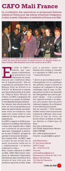 L'Echo du Mali N°11 mai 2009