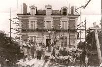 Reconstruction de la maison du notaire