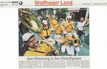 Brass for Fun auf dem Michaelismarkt.