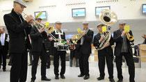 Brass for Fun zur Flughafeneröffnung Calden.