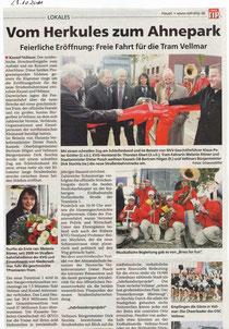 Brass for Fun und die Straßenbahn.