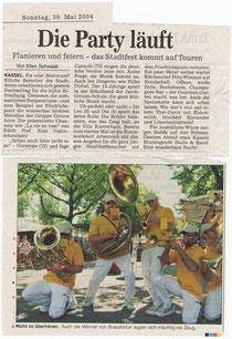 Brass for Fun Stadtfest Kassel.