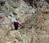 Didier Nicard - Guide de haute montagne - Escalade haute montagne - Tête de MoÏse - Via ferrata -