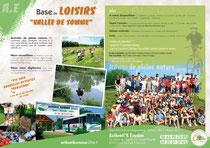 base de loisirs en Vallée de Somme