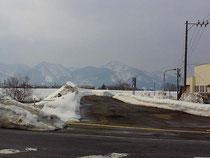3月中旬でしたが外はまだ一面の雪景色。