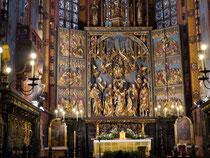 クラクフ 聖マリア大聖堂 主催壇