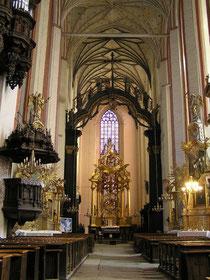 トルン 聖母マリア教会の主催壇