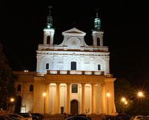 ルブリン大聖堂ナイトショット