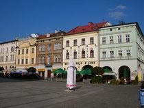 ポーランド タルヌフ市場広場