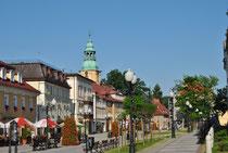 ツイエプリツェの町並み